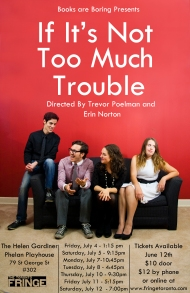 If It's Not Too Much Trouble Poster